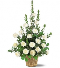 White Simplicity Basket