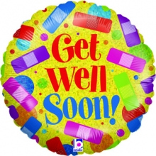 1pc Get Well Soon Balloon