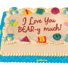 Hug-a-Bear Themed Greeting Cake By Goldilocks