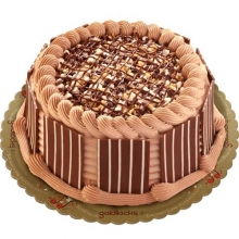CHUNKY CHOCOLATE CAKE BY GOLDILOCKS