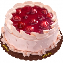 STRAWBERRY DELIGHT CAKE BY GOLDILOCKS