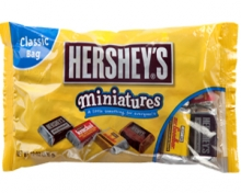 Hershey's: Miniatures Family Bag 559g