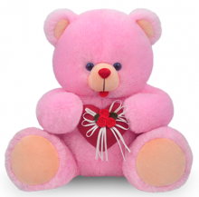 Pink Teddy Bear Heart