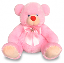 1 Feet 7 Inch Pink Color Teddy Bear