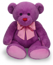 Small Cute Purple Color Teddy Bear