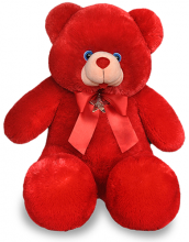1 Feet 8 Inch Red Teddy Bear