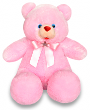 1 Feet 2 Inch Pink Teddy Bear