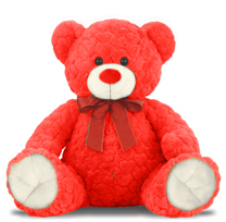 1 Feet 5 Inch Red Color Teddy Bear
