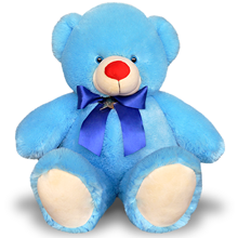 Blue Color Cute Teddy Bear