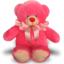 1 Feet 4 Inch Pink Color Teddy Bear