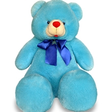 2 feet 2 inch Blue Teddy Bear