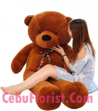 6 Feet Big Brown Color Teddy Bear