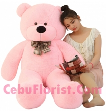 4 Feet Pink Color Giant Bear
