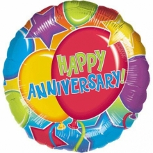 1pc Happy Anniversary Balloon
