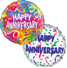 2pc Happy Anniversary Balloon