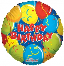 Colorful Happy Birthday Balloon #9