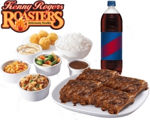 Honey Bourbon Ribs Group Meal By Kenny Rogers