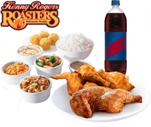 Roasted and OMG Unfried Fried Chicken Group Meal By Kenny Rogers