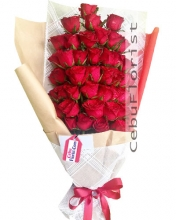 50 Pieces Red Rose Bouquet