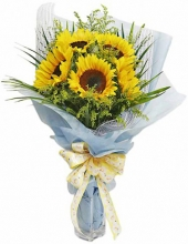 6 Pieces Sunflower Bouquet