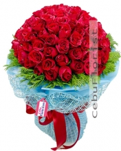 100 Red Roses to your loved ones