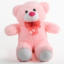 2 Pink Cream Color Teddy Bear
