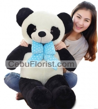 3 Feet Cute Stuffed Panda