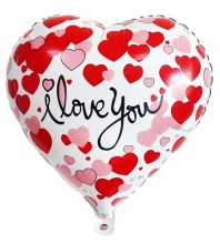 1pc I love You Mylar Balloon