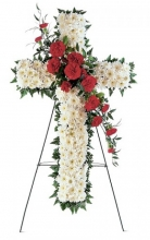 Hope and Honour Cross Standing Spray