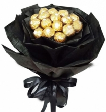 12 Pcs of Ferrero Rocher Chocolates Bouquet