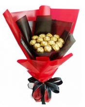 Dozen of Ferrero Rocher Chocolates Bouquet