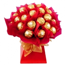 24 Pcs of Ferrero Chocolates Bouquet