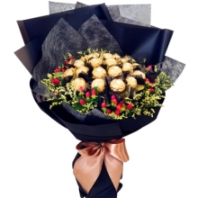 16 Pcs Ferrero Chocolates Bouquet