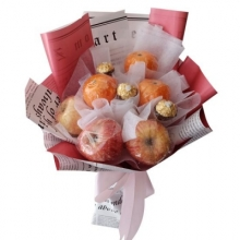 Exclusive Chocolates & Fruits in Bouquet
