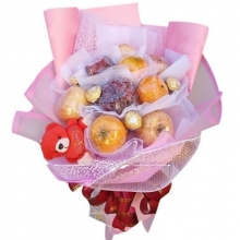Fruits & Chocolates in a Bouquet
