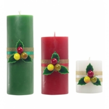 Christmas Scented Candles (3 pcs)