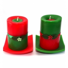 Christmas Scented Candles (2 pcs)