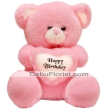 Teddy Bear With Birthday Heart