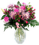 Marvelous Pink Blossoms in a Vase