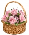 Mothers Day Roses Basket